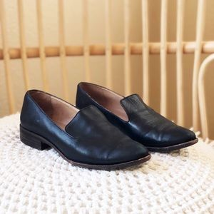 Madewell black loafers
